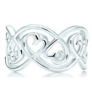 Paloma Picasso® Loving Heart Swirl Band Ring